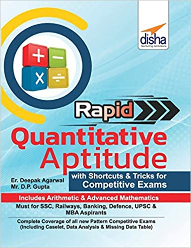 Rapid Quantitative Aptitude - Book of Shortcuts & Tricks for Competitive Exams
